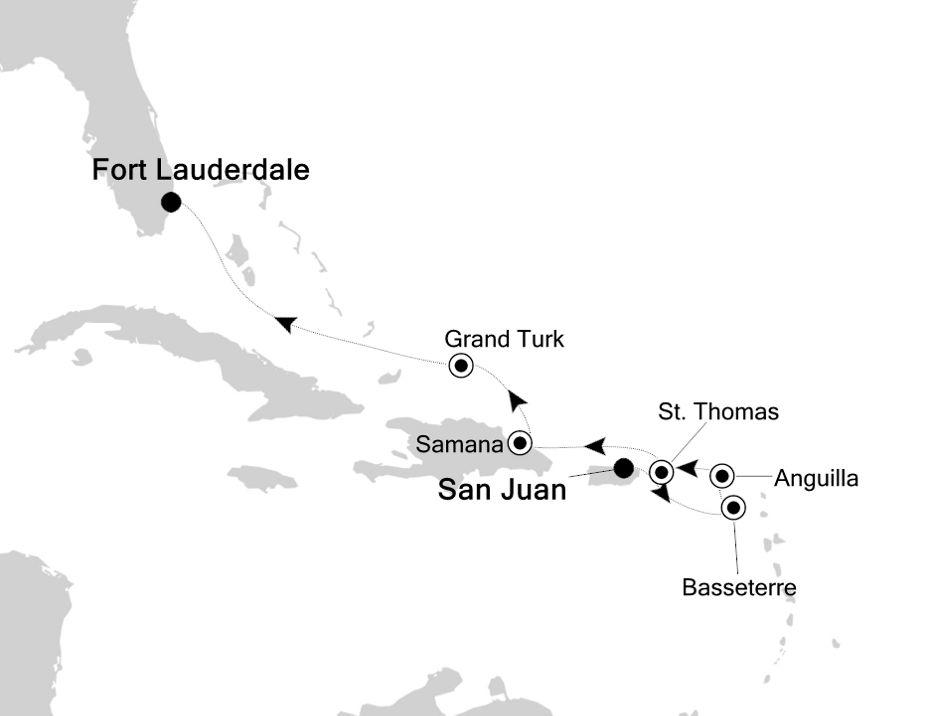 2903 - San Juan to Fort Lauderdale