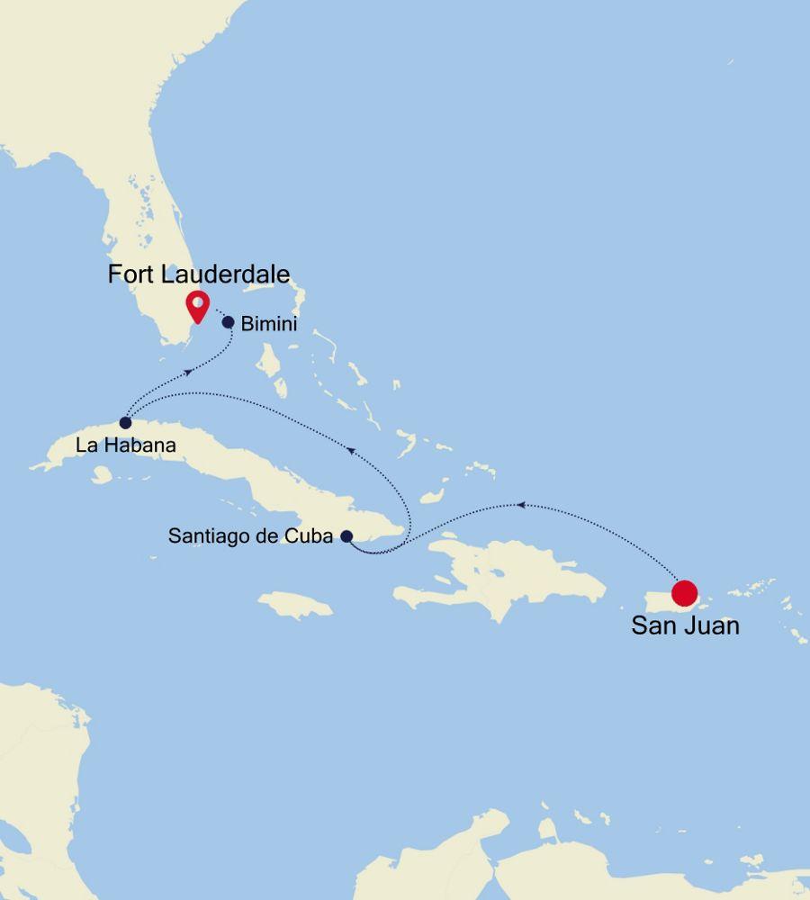 2906 - San Juan to Fort Lauderdale