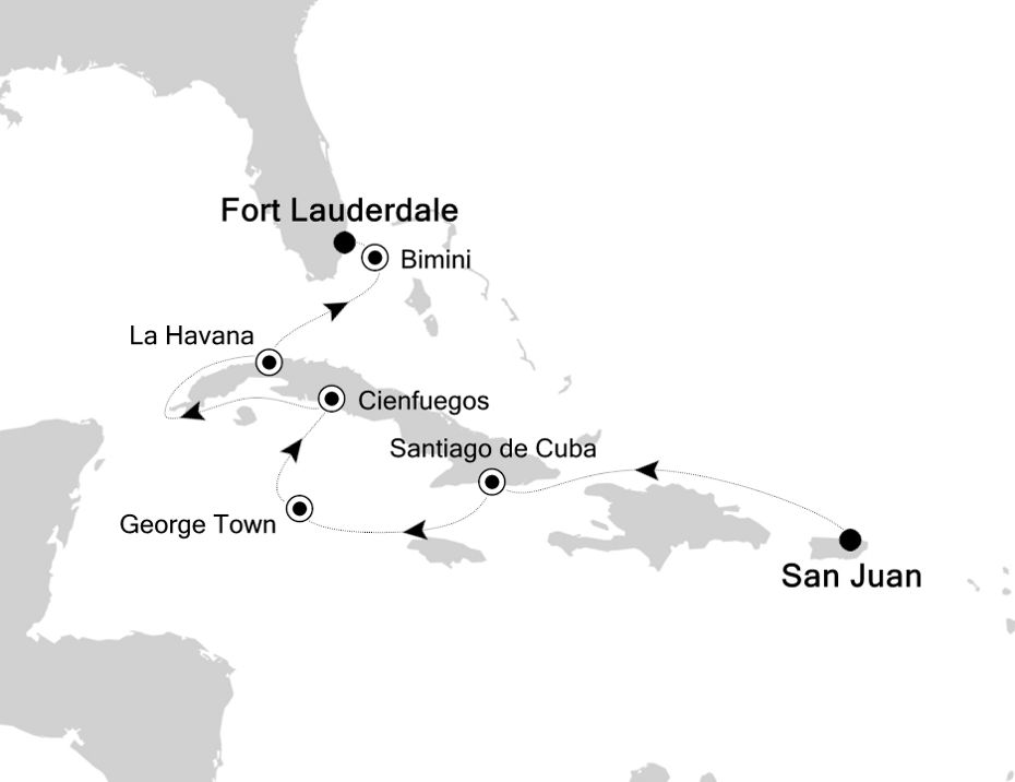 2912 - San Juan to Fort Lauderdale