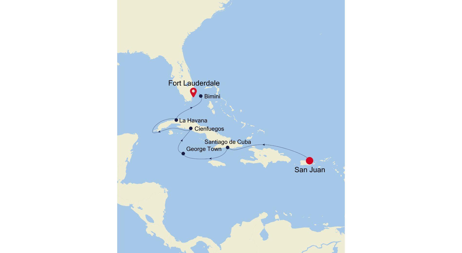 2912 - San Juan to Fort Lauderdale