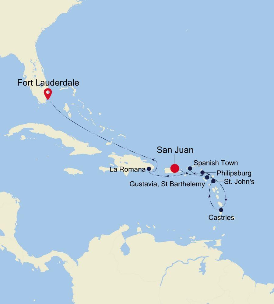 2934 - San Juan a Fort Lauderdale