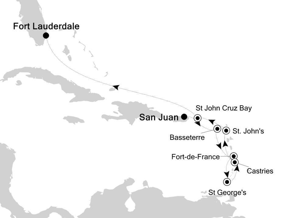 3935 - San Juan to Fort Lauderdale