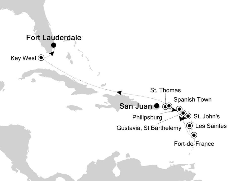 4929 - San Juan nach Fort Lauderdale