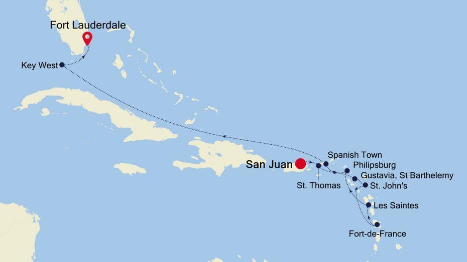 4929 - San Juan to Fort Lauderdale