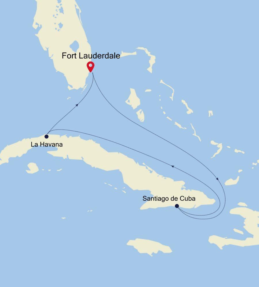 2005 - Fort Lauderdale nach Fort Lauderdale