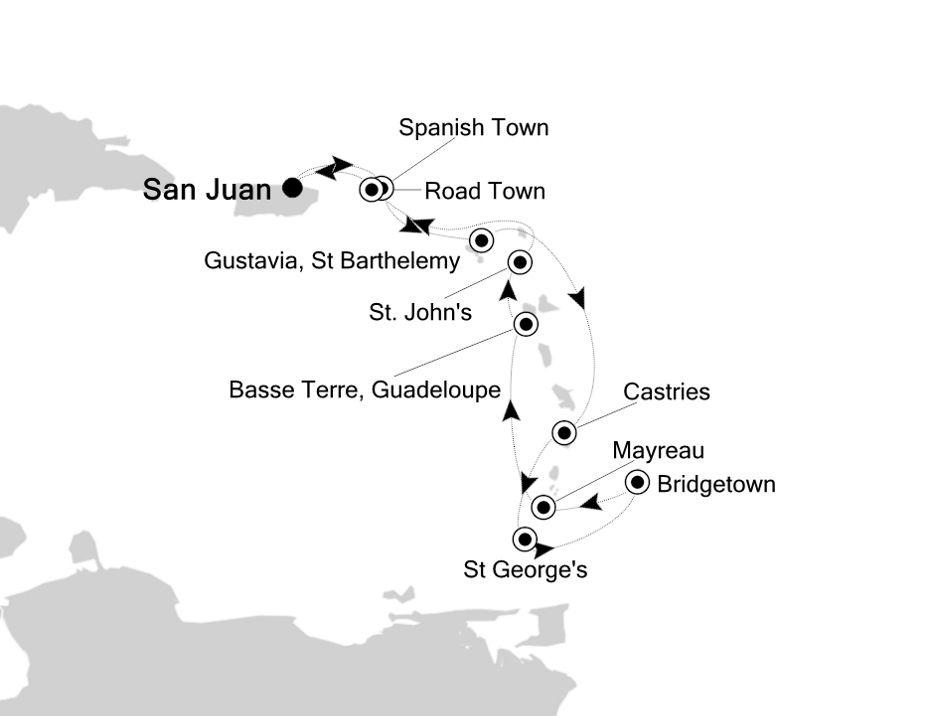 2807 - San Juan to San Juan