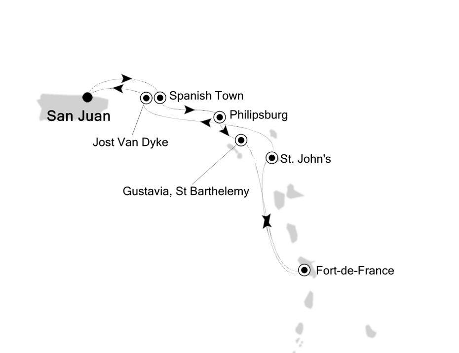 2910 - San Juan to San Juan