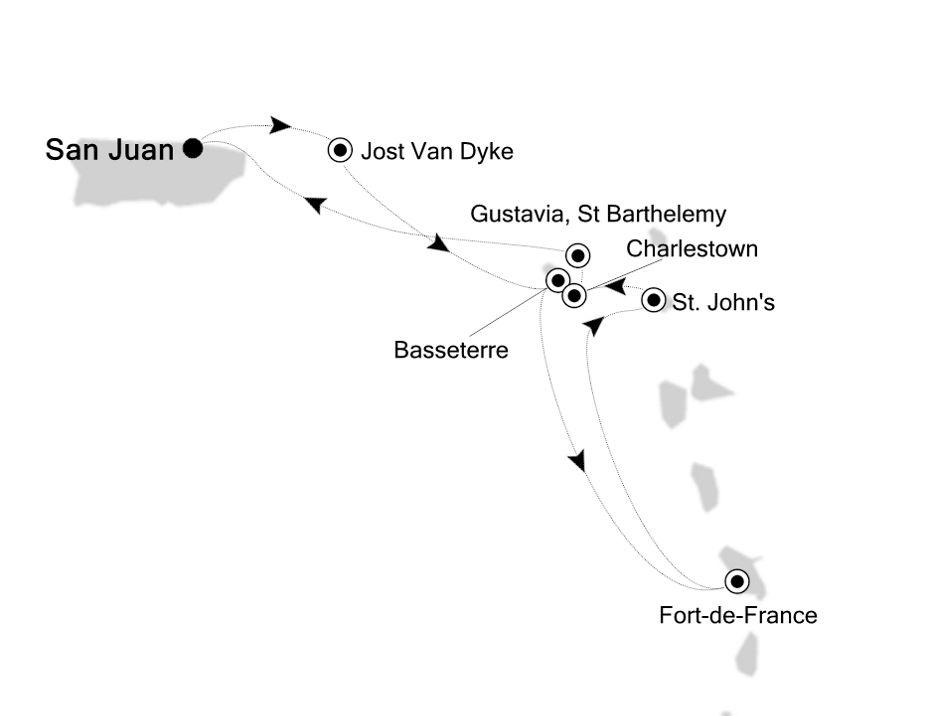 2933 - San Juan to San Juan