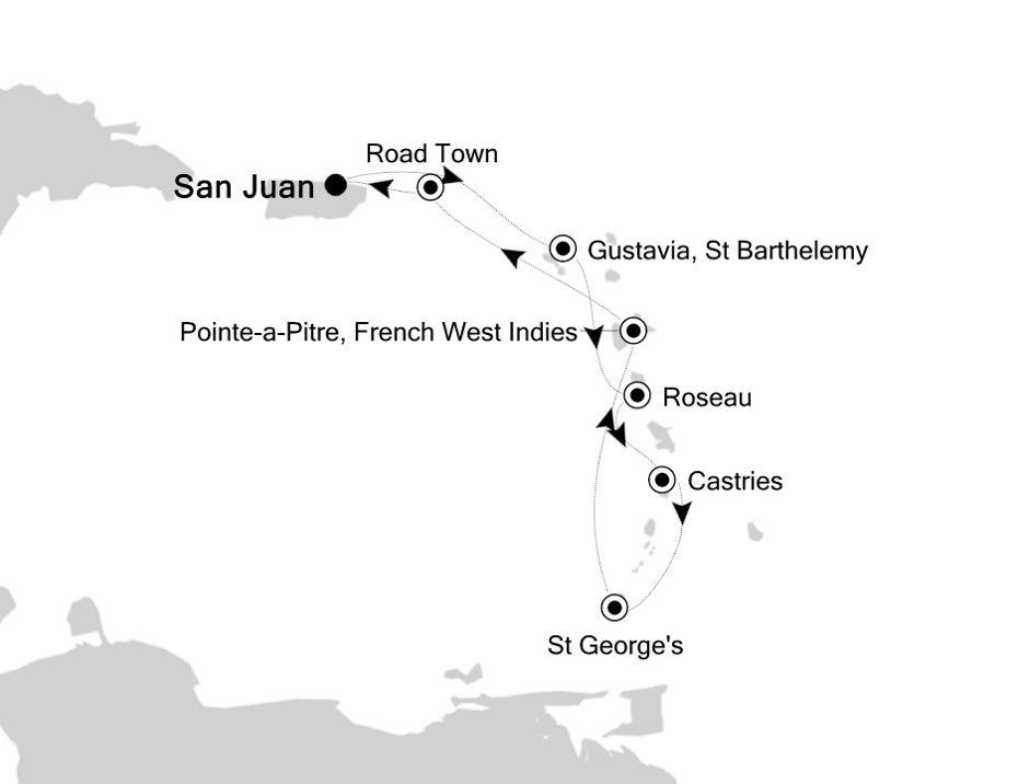 5904 - San Juan nach San Juan