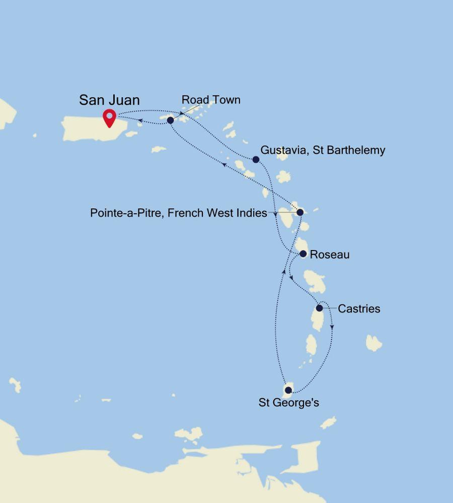 5904 - San Juan to San Juan