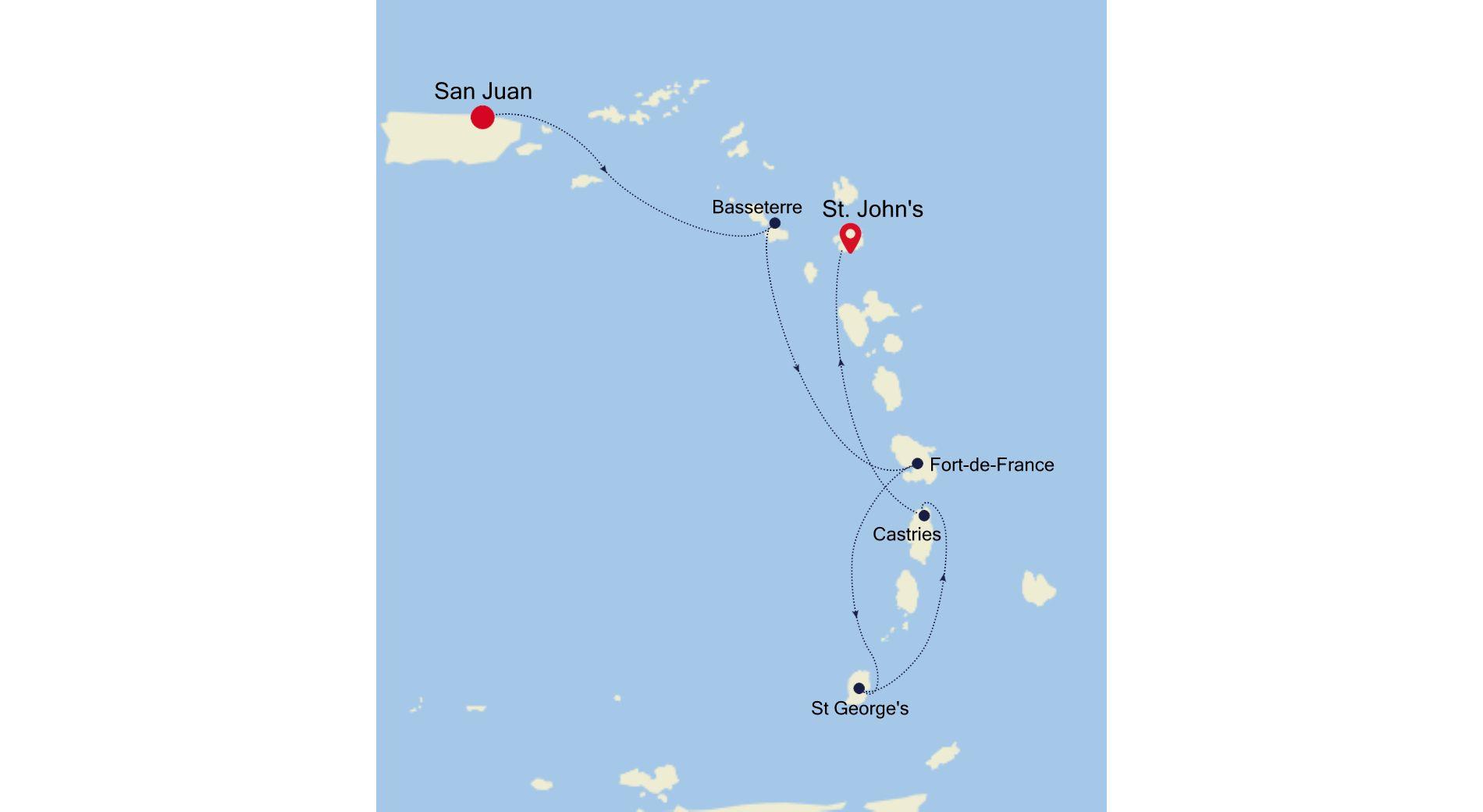 3935A - San Juan a St. John's