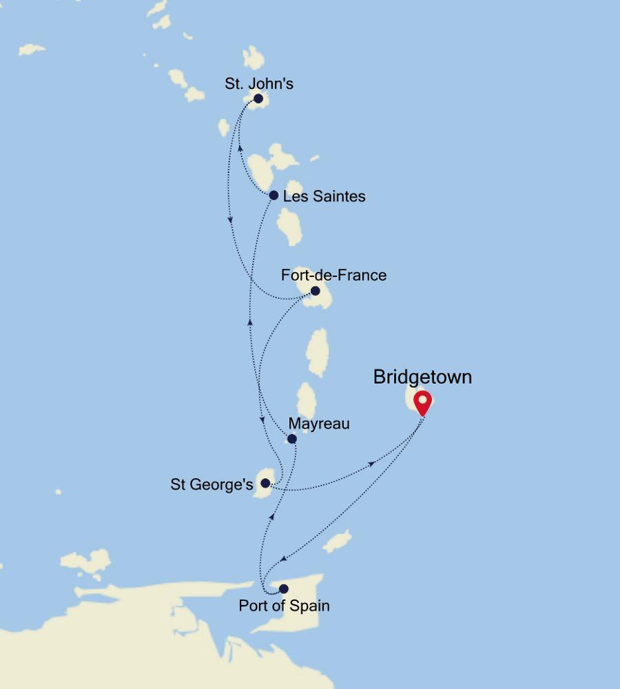 SS200107007 - Bridgetown to Bridgetown