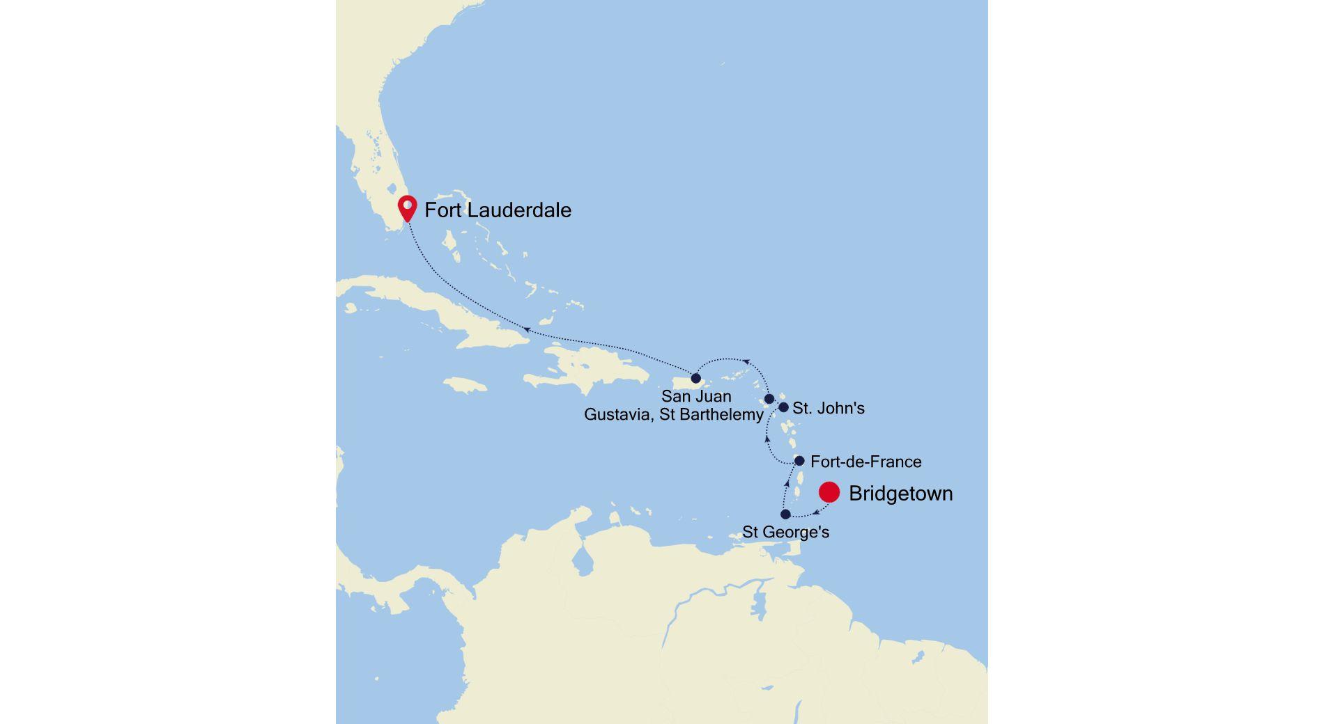 3004B - Bridgetown a Fort Lauderdale