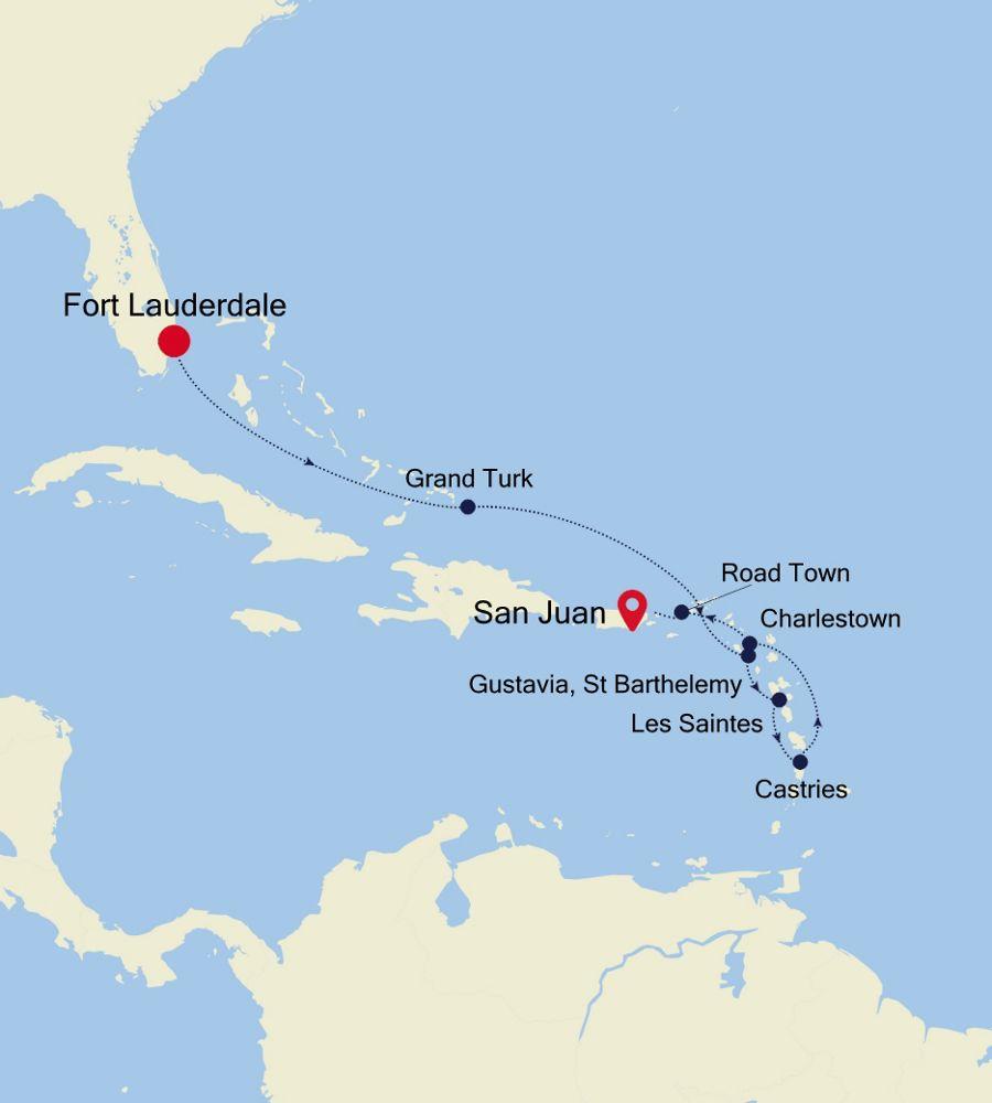 SS201125009 - Fort Lauderdale to San Juan