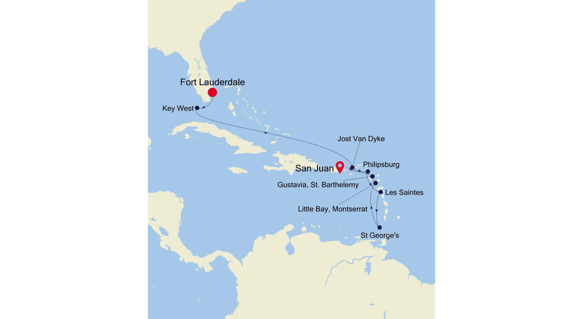 SS201228011 - Fort Lauderdale a San Juan