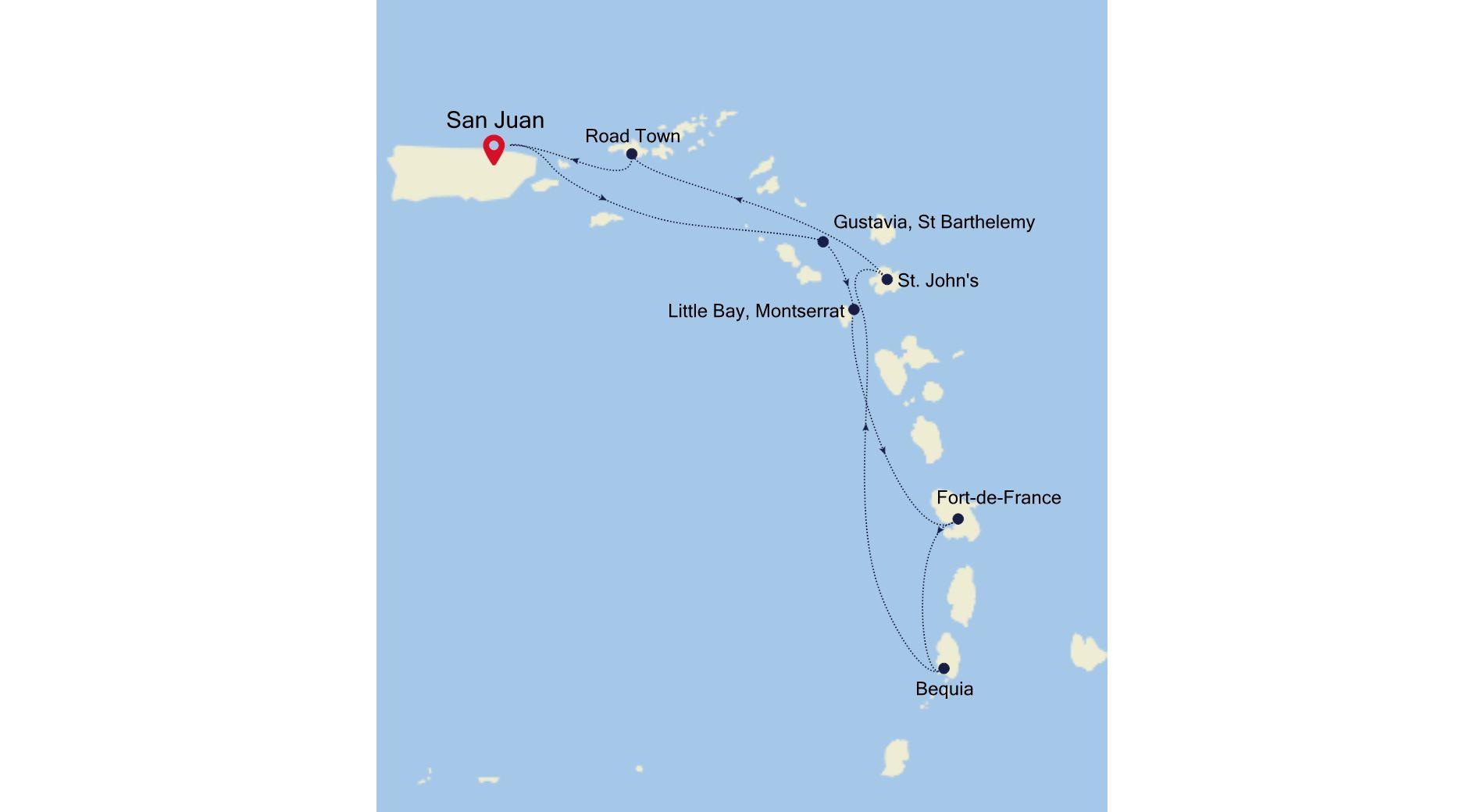 SS210215007 - San Juan a San Juan