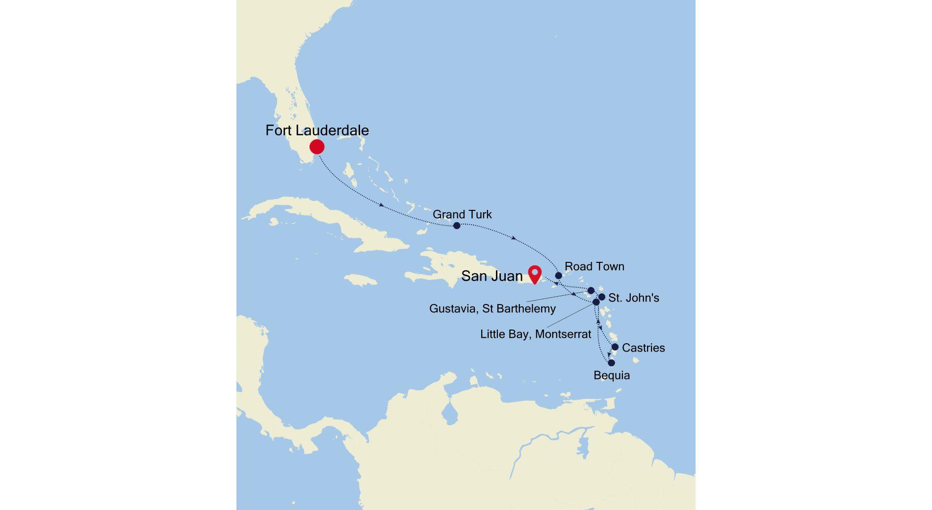SS210315010 - Fort Lauderdale a San Juan