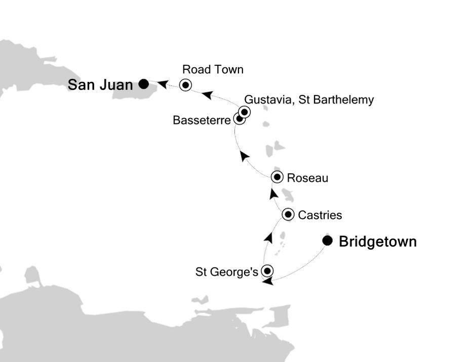 5831A - Bridgetown a San Juan