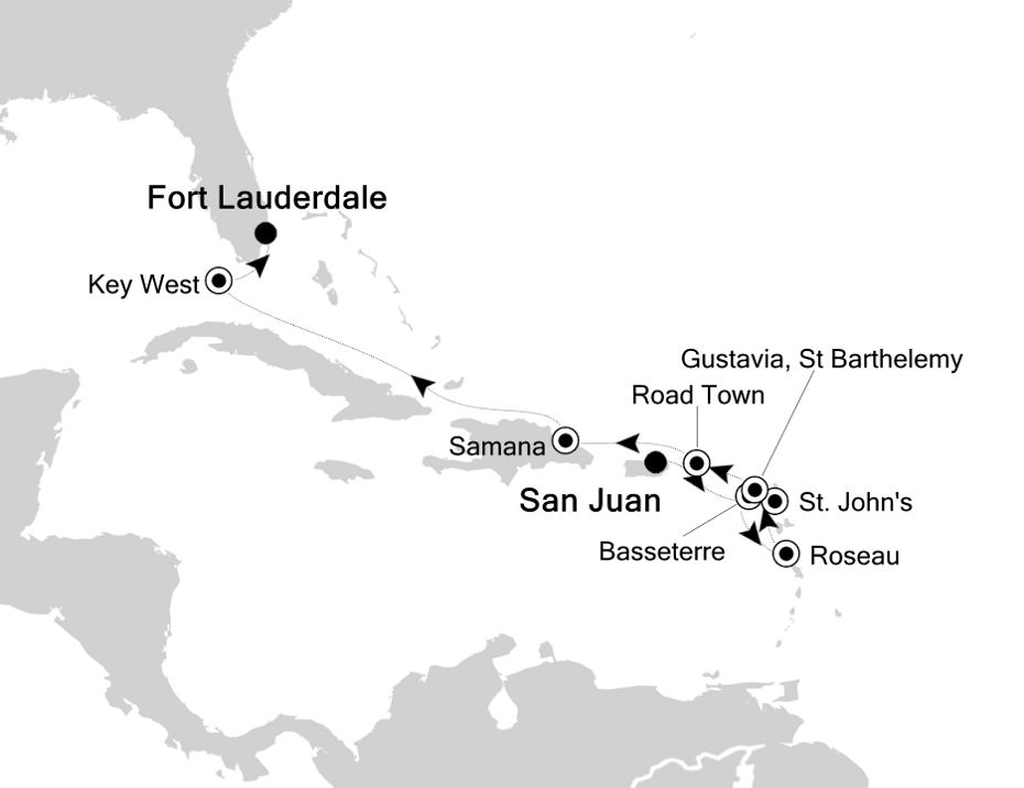 5832B - San Juan to Fort Lauderdale