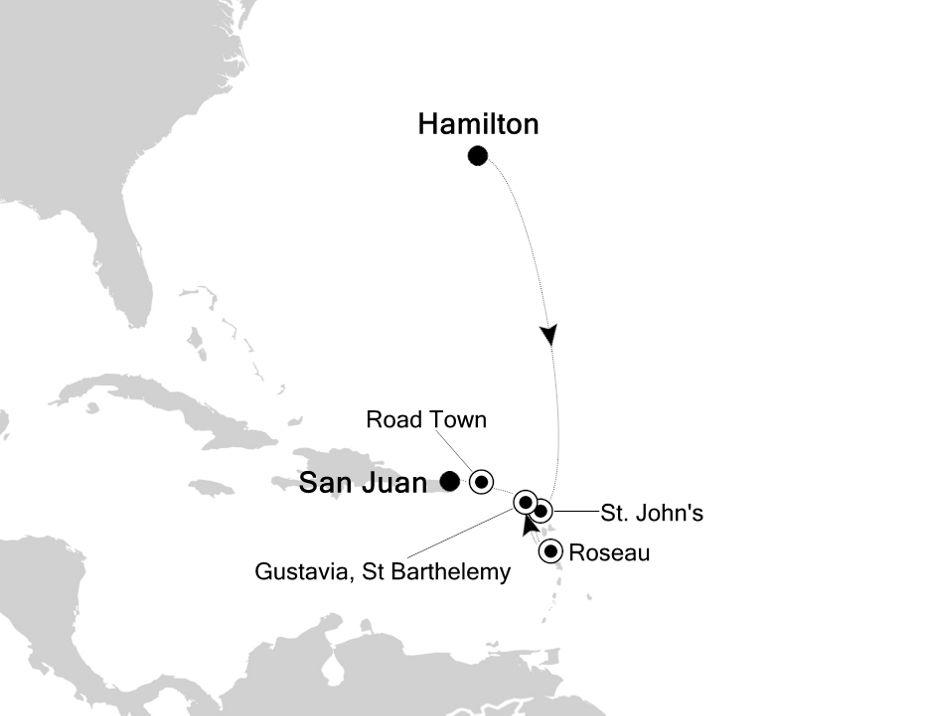 4928A - Hamilton a San Juan