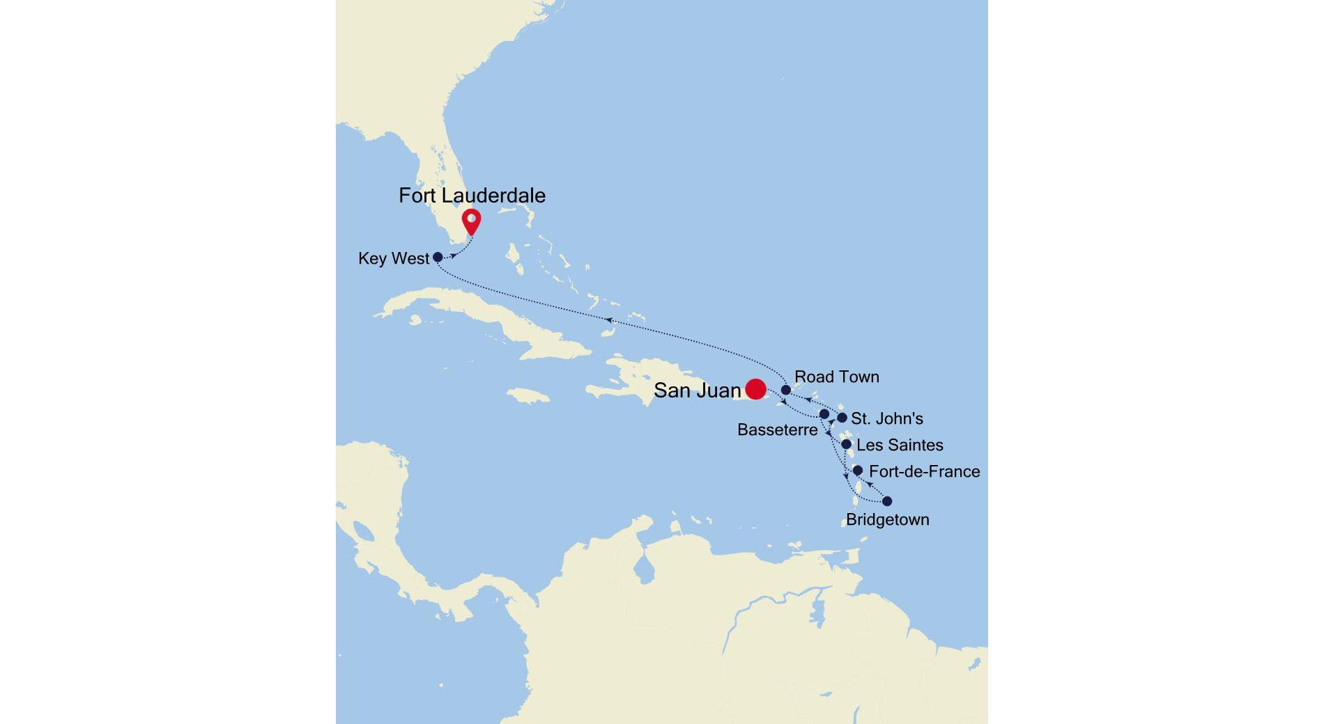 4930C - San Juan a Fort Lauderdale