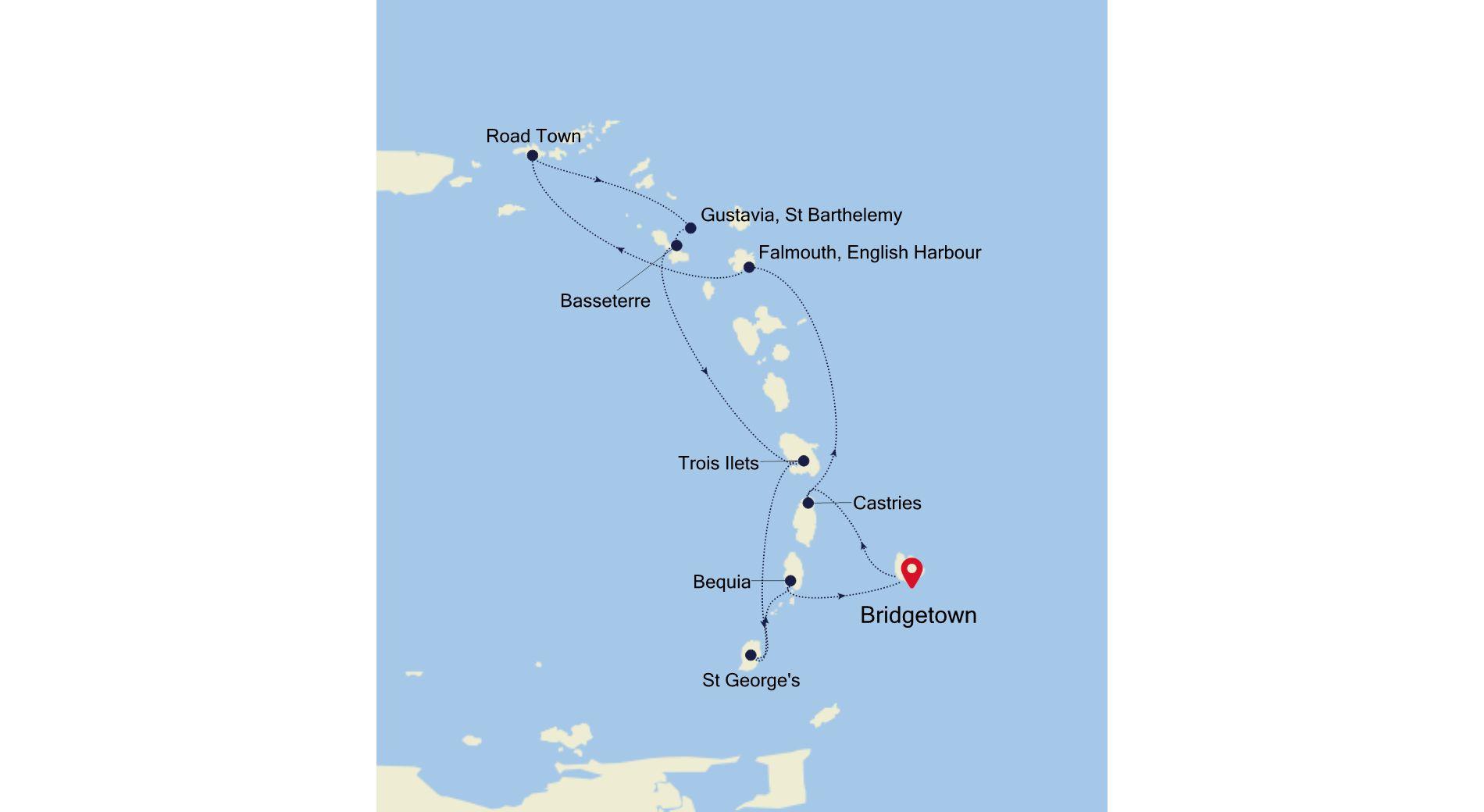 WH201120009 - Bridgetown nach Bridgetown