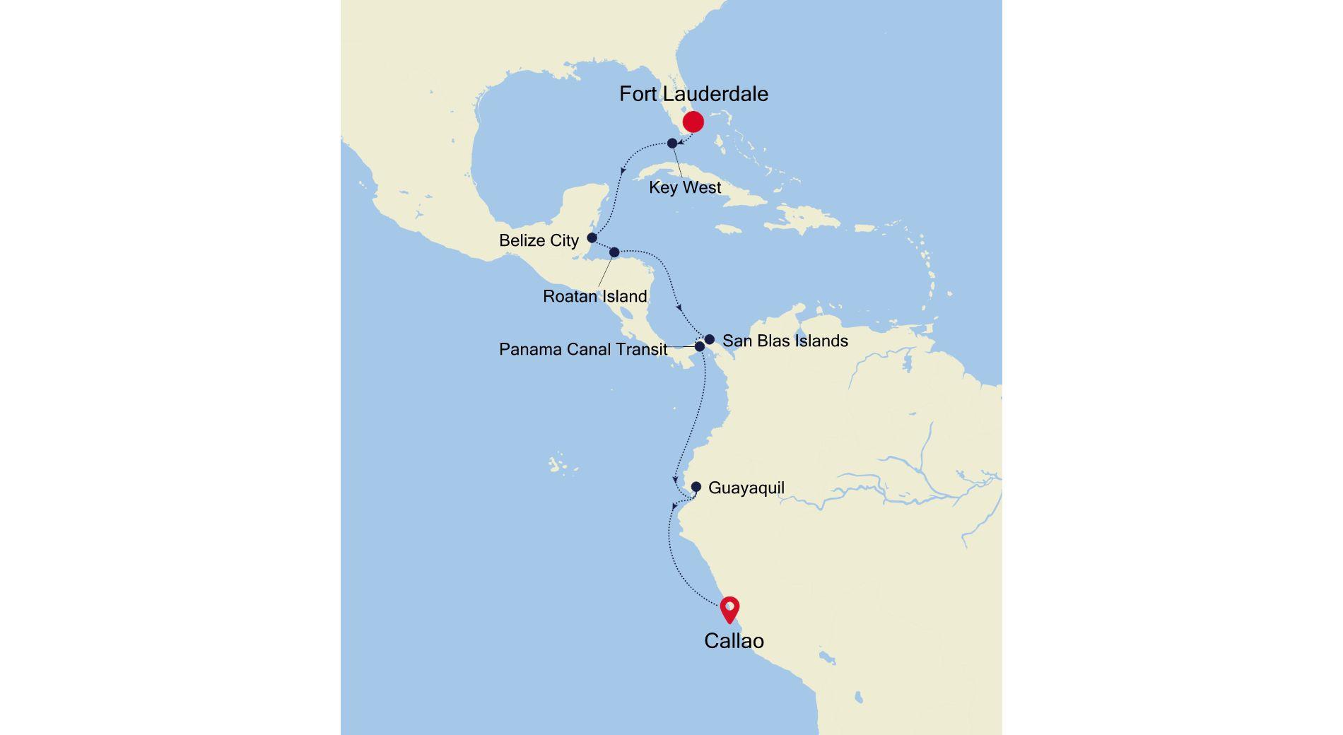 WH210107013 - Fort Lauderdale à Callao