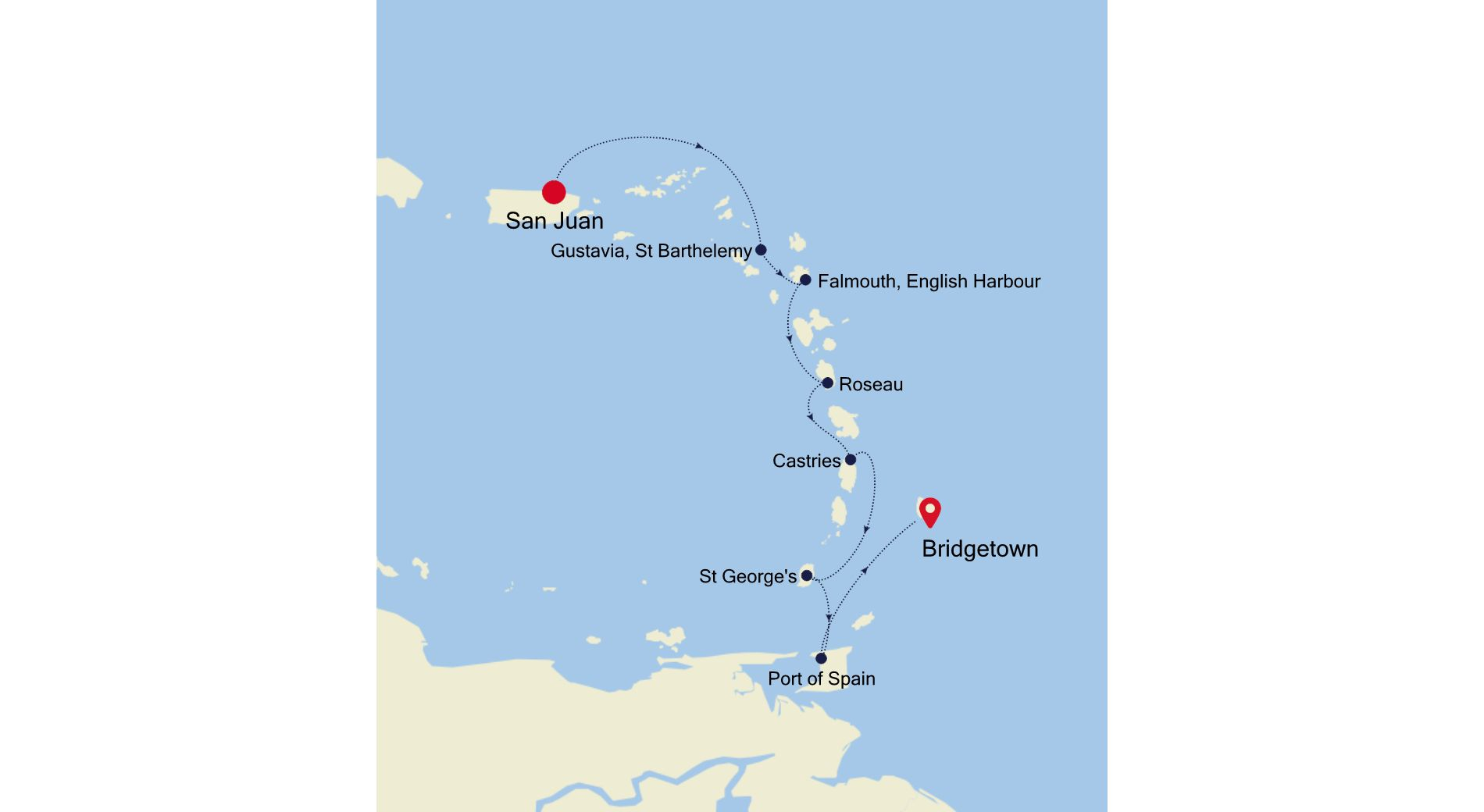 2931A - San Juan to Bridgetown