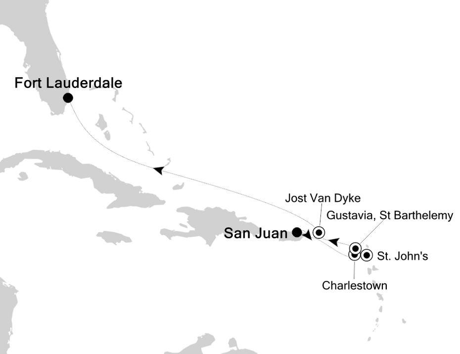 2001A - San Juan à Fort Lauderdale