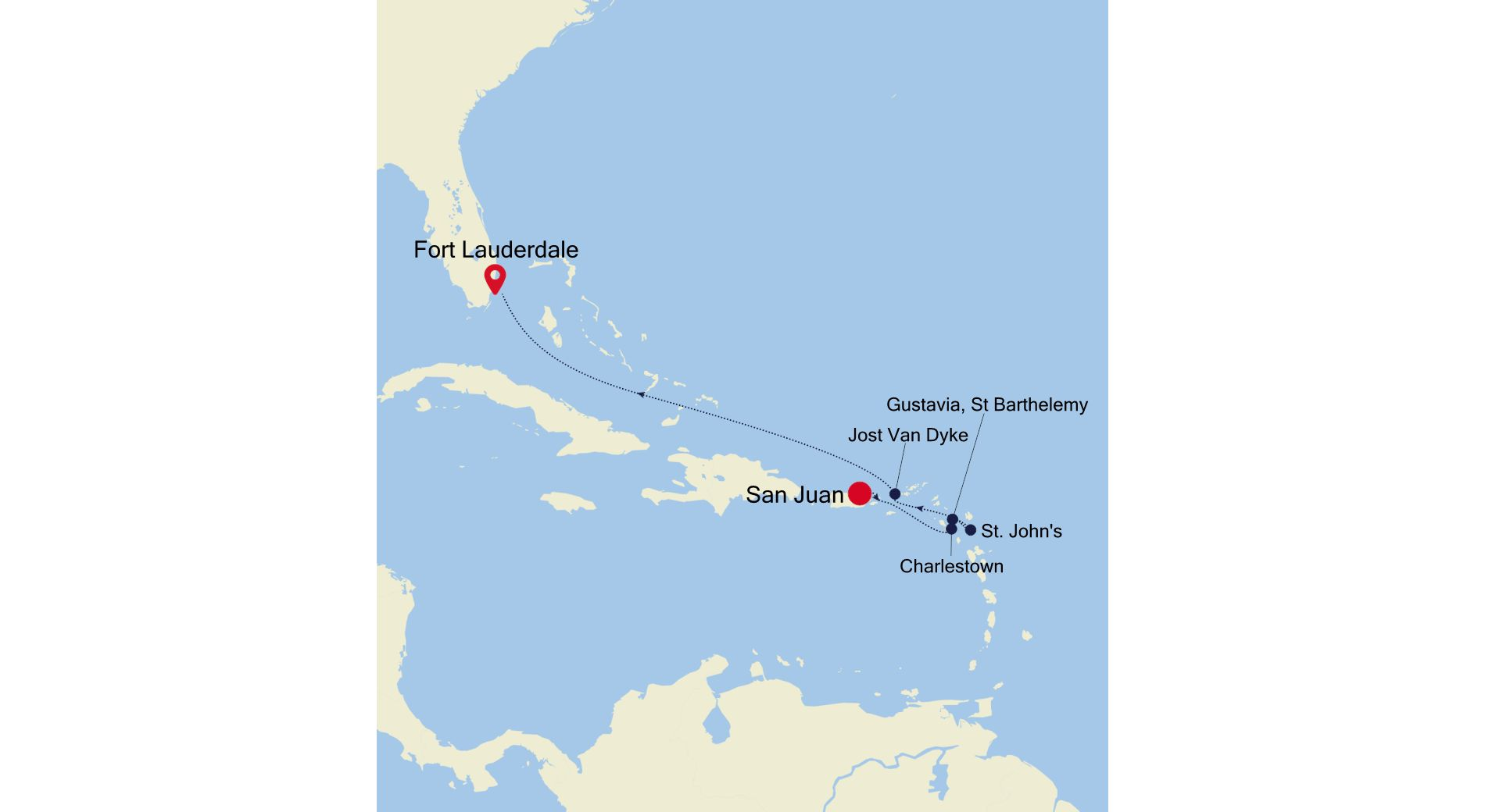 2001A - San Juan to Fort Lauderdale