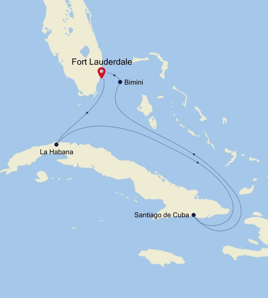 2012 - Fort Lauderdale nach Fort Lauderdale