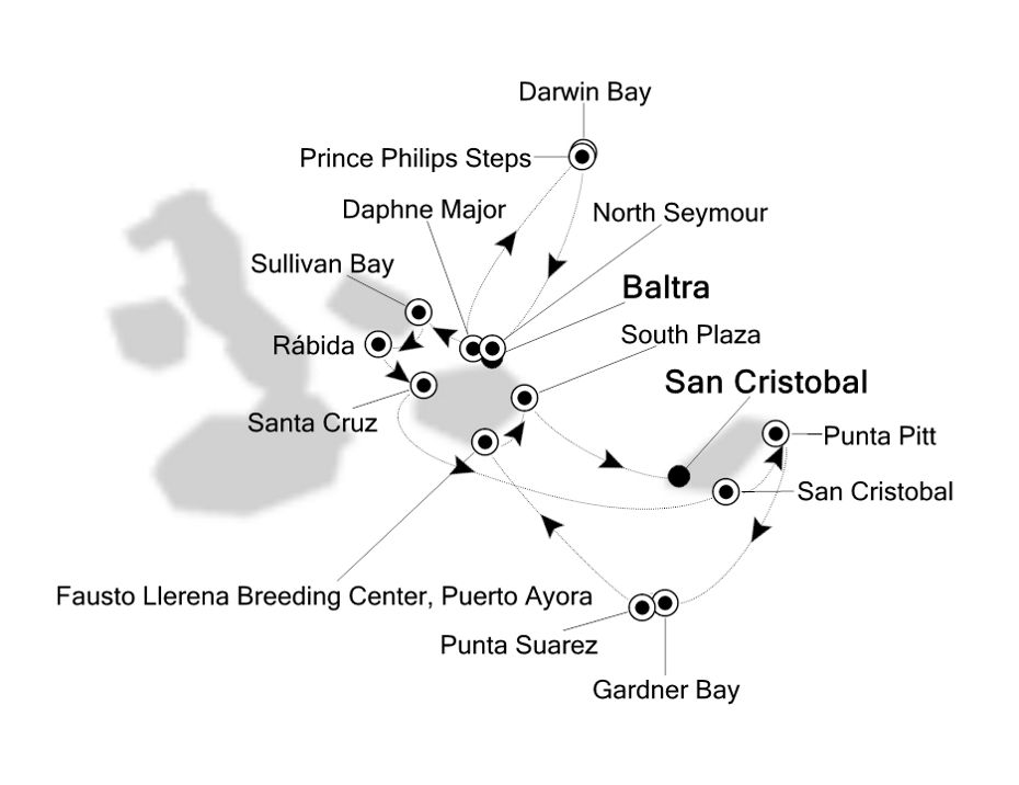 8008 - Baltra to San Cristobal
