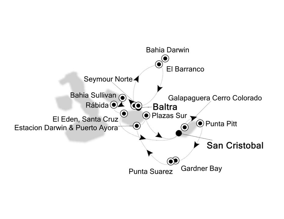 8814 - Baltra a San Cristobal