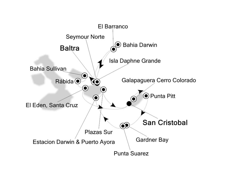 8822 - Baltra nach San Cristobal