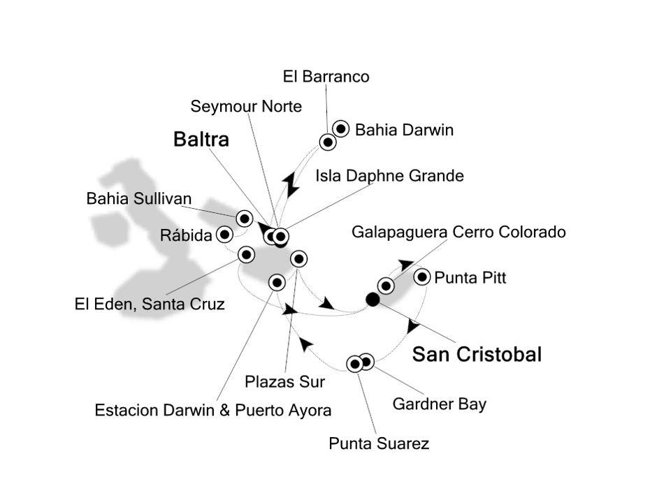 8824 - Baltra nach San Cristobal