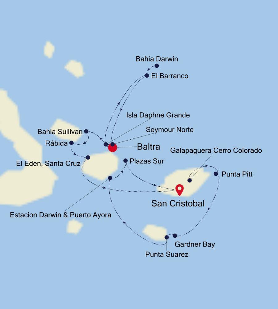 8914 - Baltra nach San Cristobal