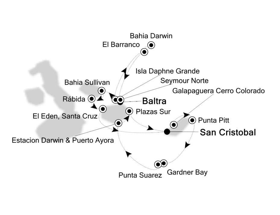 8926 - Baltra nach San Cristobal