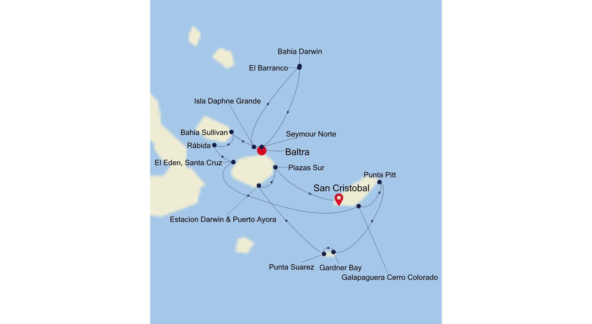 8941 - Baltra to San Cristobal