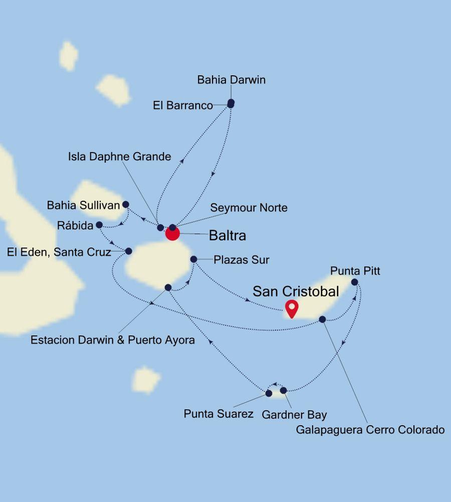 8949 - Baltra to San Cristobal