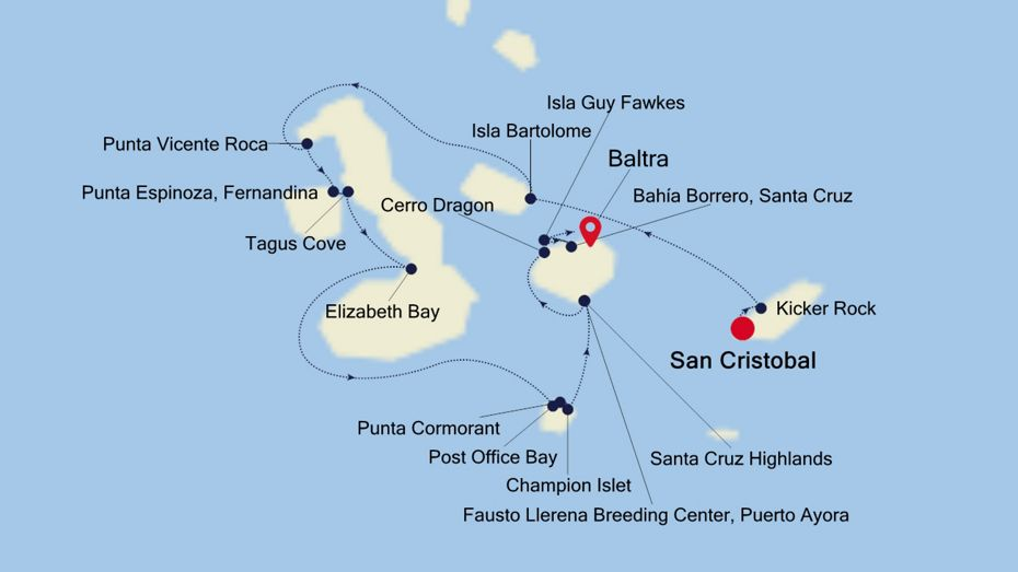 OR210911007 - Baltra to San Cristobal