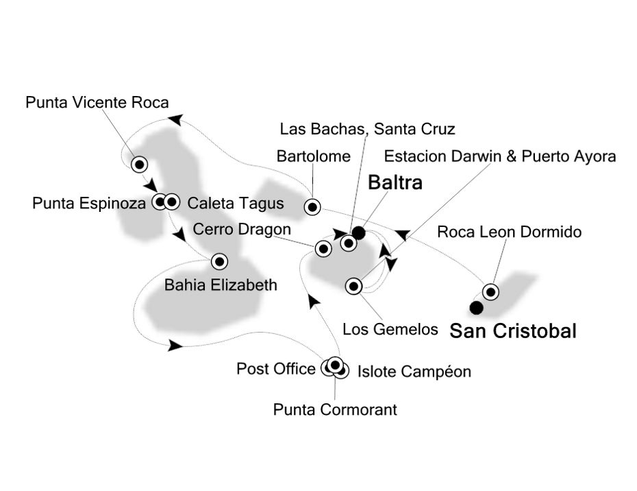 8001 - San Cristobal to Baltra