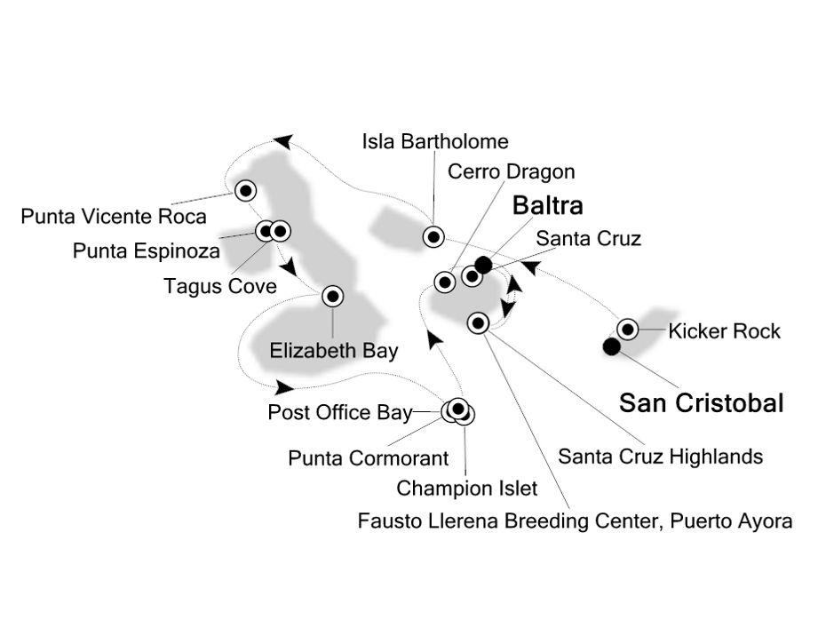 8011 - San Cristobal nach Baltra