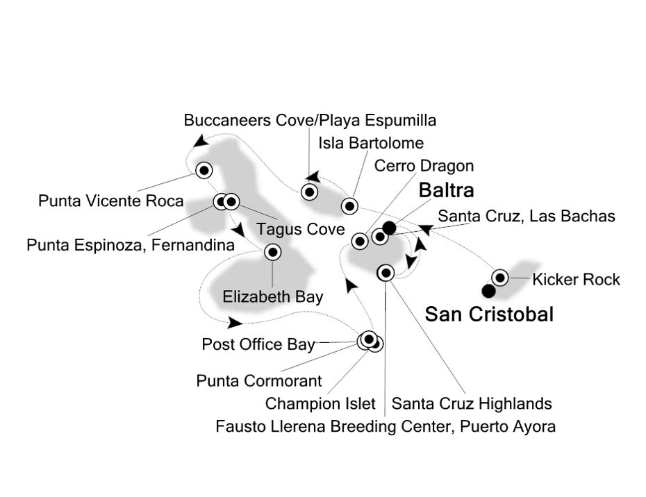 E2200704007 - San Cristobal à Baltra