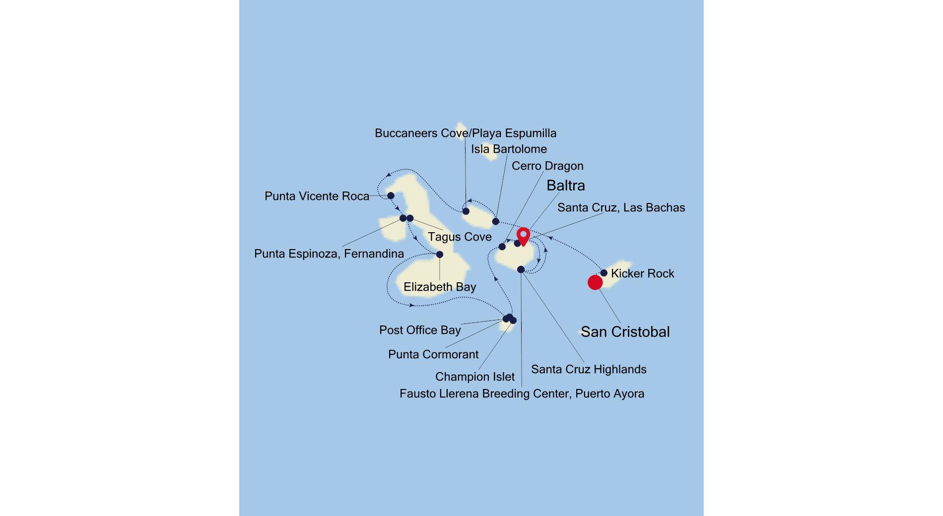 E2200704007 - San Cristobal to Baltra