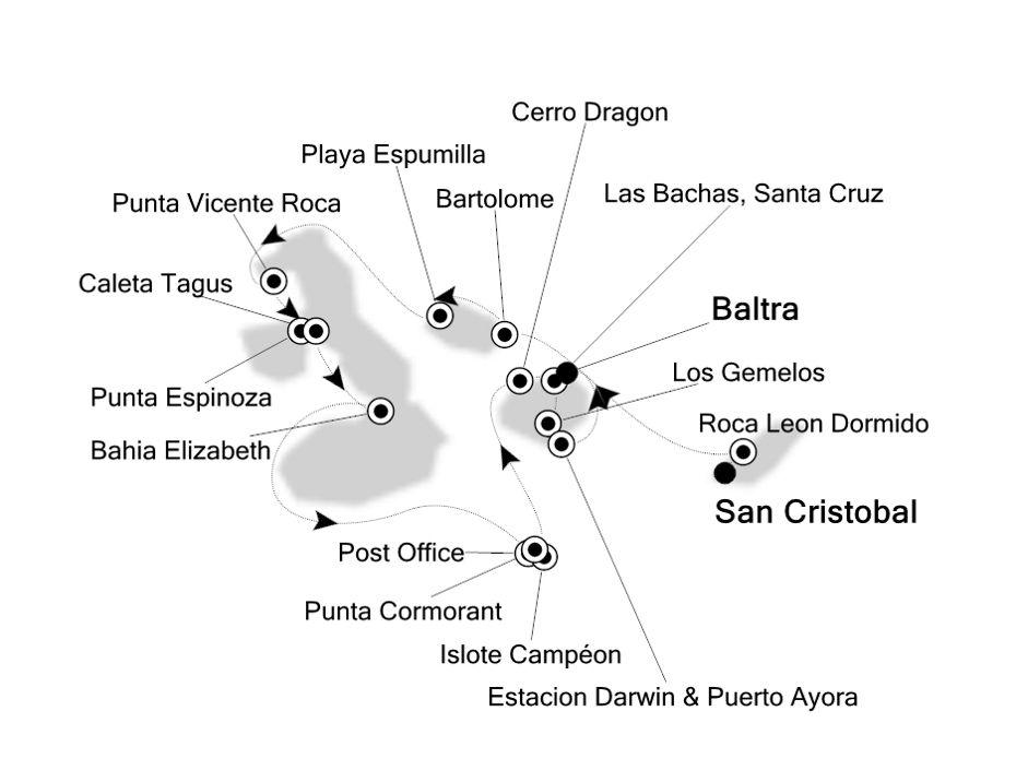 8833 - San Cristobal to Baltra