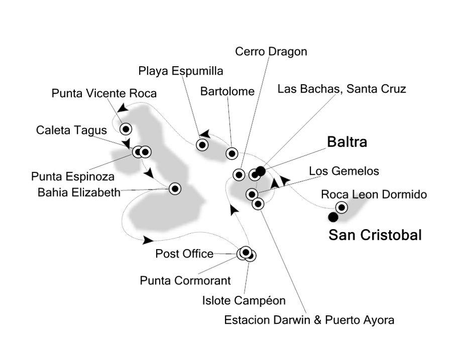 8835 - San Cristobal to Baltra
