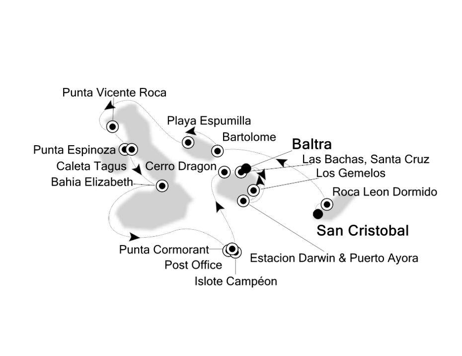 8843 - San Cristobal to Baltra