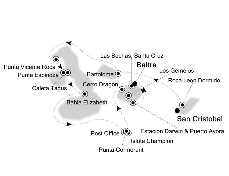 8931 - San Cristobal to Baltra