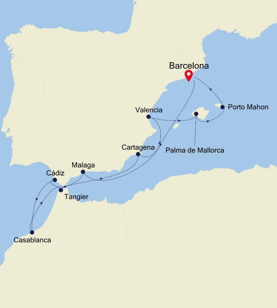 3914 - Barcelona to Barcelona