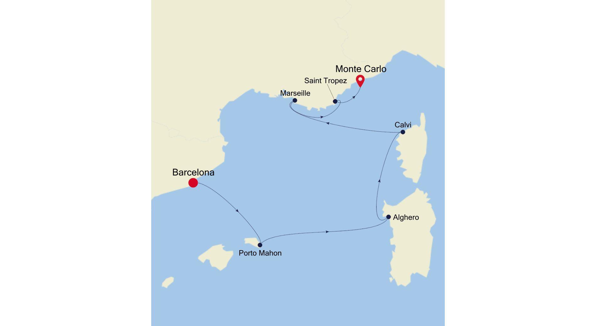 3915 - Barcelona to Monte Carlo